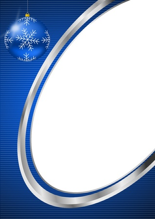 christmas background with christmas ball Stock Photo - 10959202