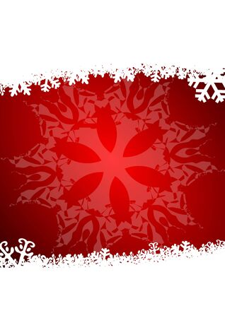 christmas background with snowflakes Stock Photo - 11222022
