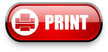 a print: print web button Stock Photo