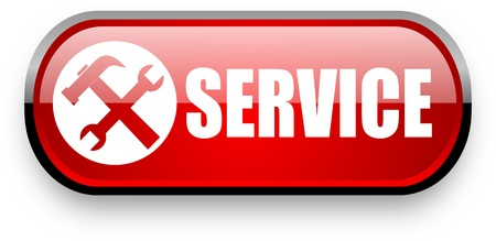 service web button Stock Photo - 11396651