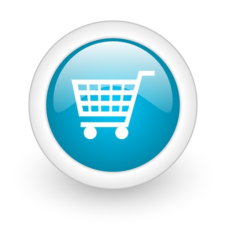 shopping web button photo