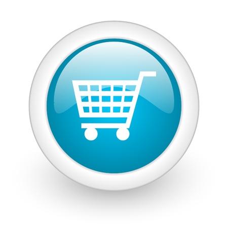 shopping web button Stock Photo - 11872071