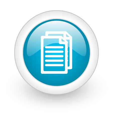 documents web button Stock Photo - 11872073