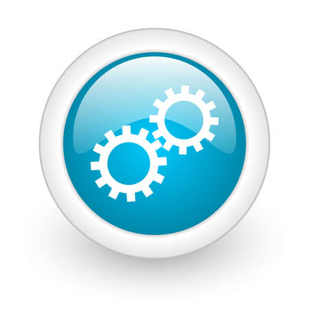 gears web button photo