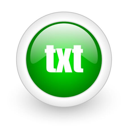 txt web button photo