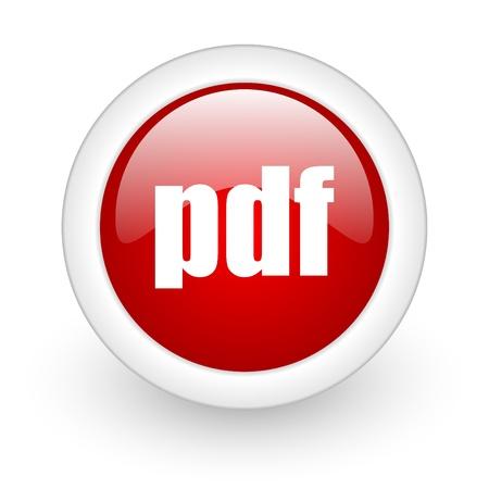 pdf web button Stock Photo - 11872084
