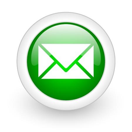 message web button Stock Photo - 11872103