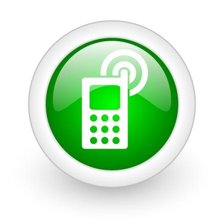 mobile phone web button photo