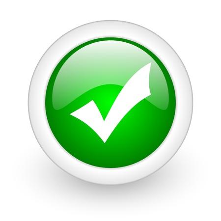 ok web button Stock Photo - 11872102