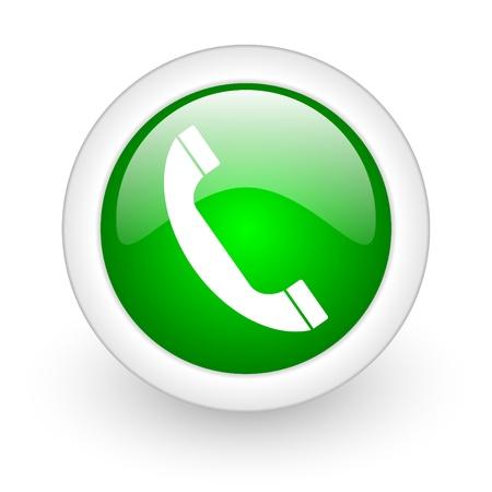 telephone web button photo