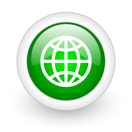 etiquette voyage: bouton web globe