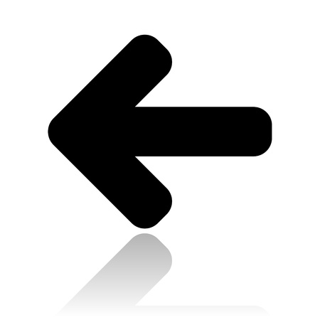 left arrow icon photo