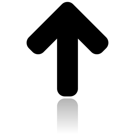 up arrow icon photo