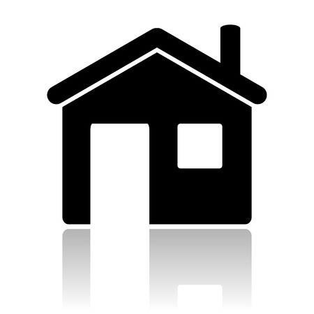 home icon Stock Photo - 12013275