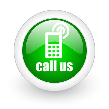 call us icon Stock Photo - 12173132