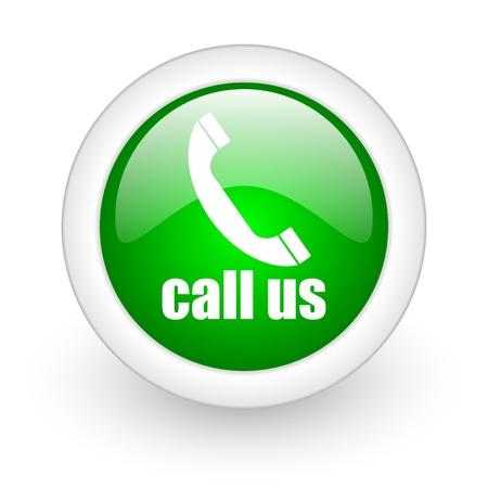 call us icon Stock Photo - 12172960