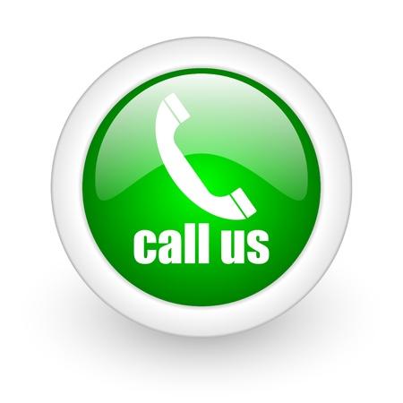call us icon Stock Photo - 12172960