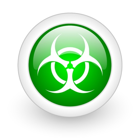 biohazard icon Stock Photo - 12173133