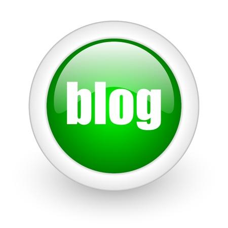 blog icon Stock Photo - 12172885