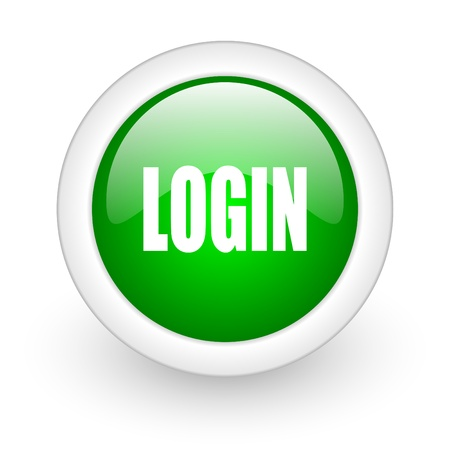 login icon Stock Photo - 12172951
