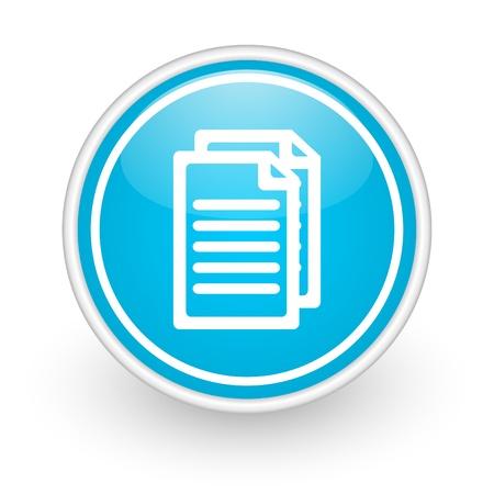 document icoon Stockfoto