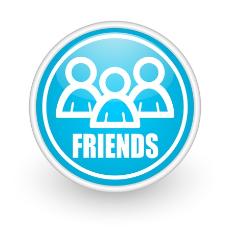 friends icon Stock Photo - 12173221