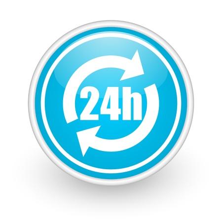 24h service icon photo