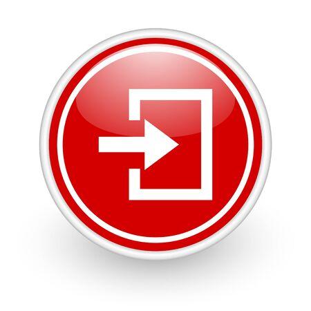 login icon Stock Photo - 12773434