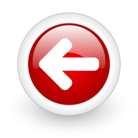 phone button: glossy oryginal circle icon with shadow on white background