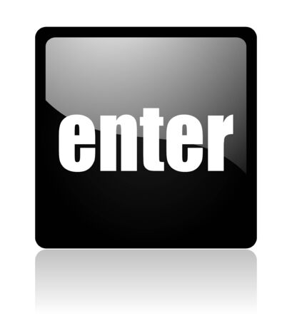 enter icon Stock Photo - 12965761