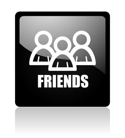 friends icon Stock Photo - 12965790
