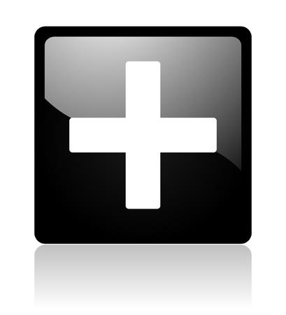 cross icon Stock Photo - 12965723