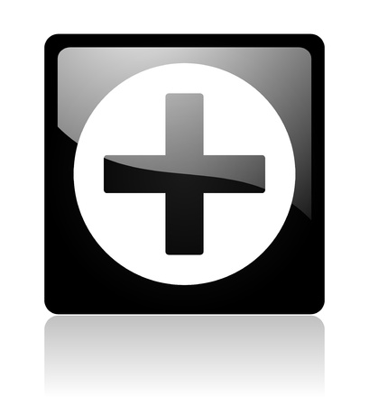 cross icon Stock Photo - 12965726