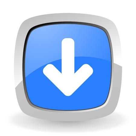 page down: arrow down icon