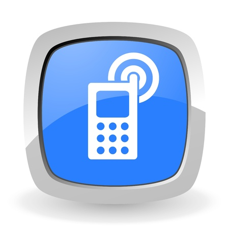 cellphone icon Stock Photo - 12965807