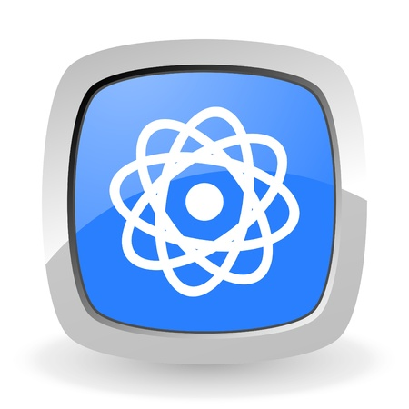 atom icon Stock Photo - 12965839