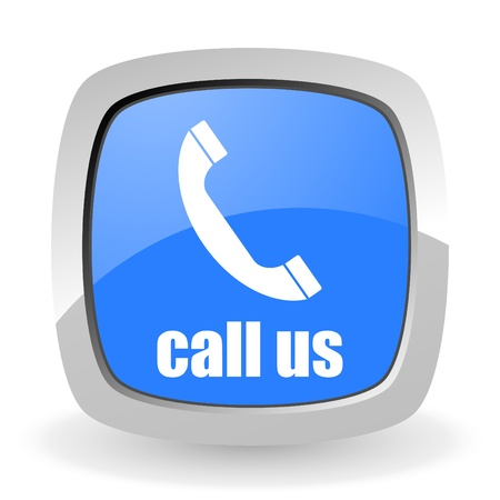 call us icon Stock Photo - 12965809