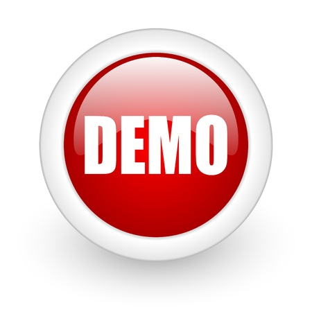 demo icon Stock Photo - 12965846