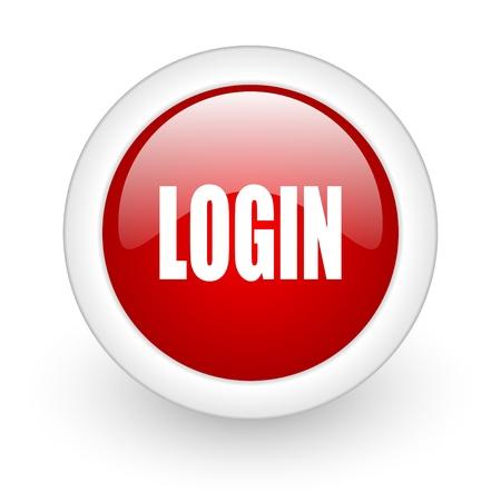 login icon Stock Photo - 12965852