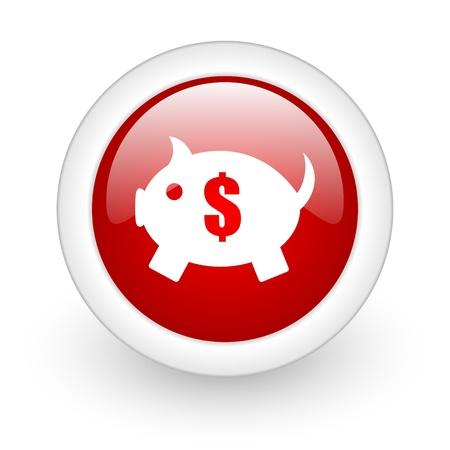 piggy bank icon photo