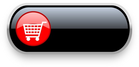 shopping cart icon Stock Photo - 13194459