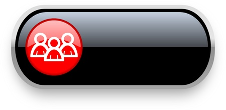3d button: group icon