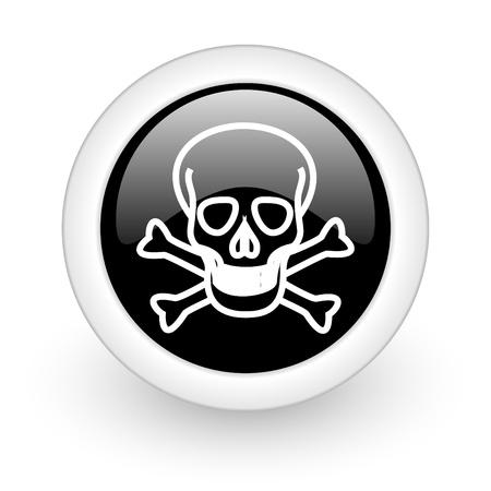 warez: black round 3d icon