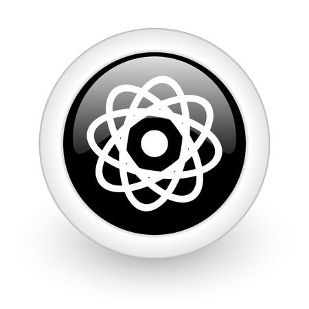 black round 3d icon Stock Photo - 13457630