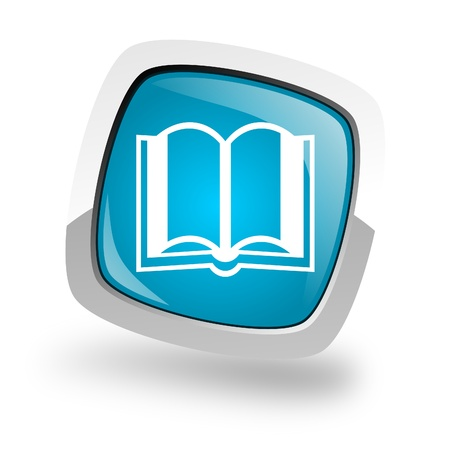 phone icon: book icon Stock Photo