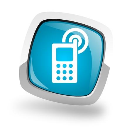 cellphone icon Stock Photo - 13457825