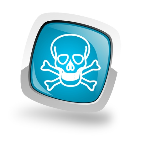 skull icon Stock Photo - 13457860