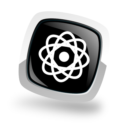 atom icon Stock Photo - 13734221