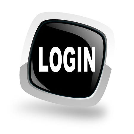 login icon Stock Photo - 13762496
