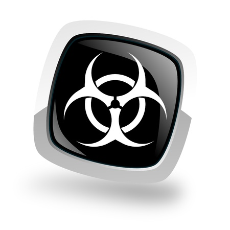 bio hazard icon Stock Photo - 13762575